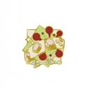 【グッズ-ピンバッチ】鬼滅の刃 ピンズコレクション 第3弾 宇髄天元【一般販売分】の画像