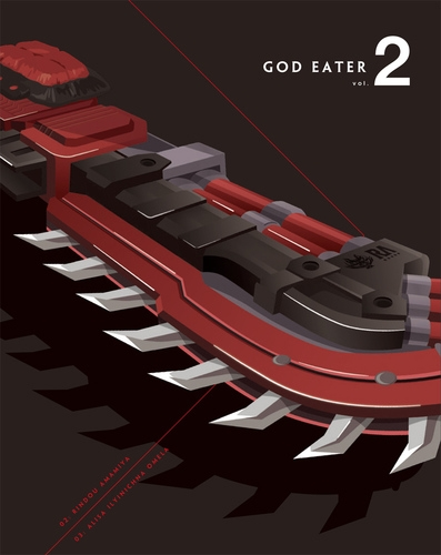 【Blu-ray】TV GOD EATER vol.2 特装限定版