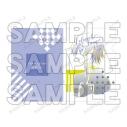 【グッズ-クリアファイル】コードギアス 反逆のルルーシュ ルルーシュ lette-graph クリアファイル【アニメイト先行販売】の画像