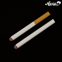 【コスプレ-サポートアイテム】フェイクたばこ 白・茶セットの画像