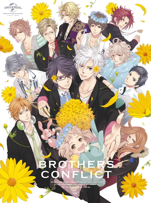 【Blu-ray】TV BROTHERS CONFLICT Blu-ray BOX 初回限定生産