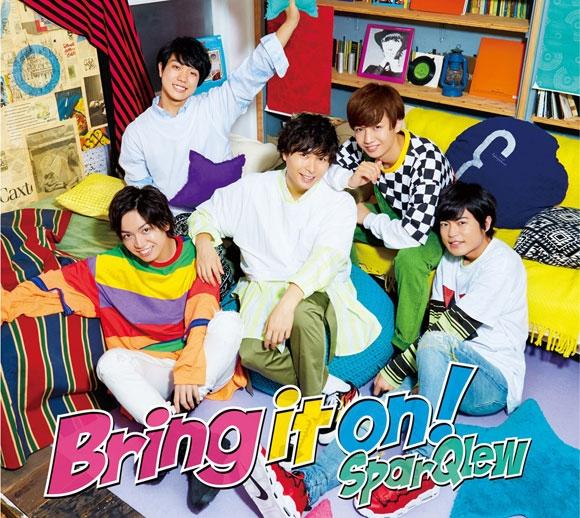 【アルバム】SparQlew/Bring it on! 豪華盤