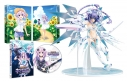 【Blu-ray】OVA 超次元ゲイム ネプテューヌ ~ねぷのなつやすみ~ 完全初回限定生産 【パープルハート・ライラックCOOL 1/7スケールフィギュア同梱】の画像