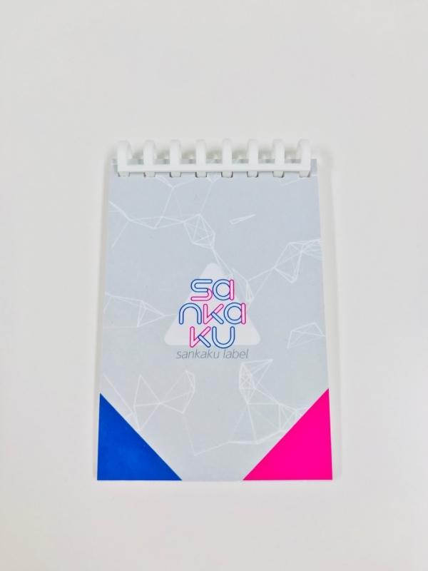 sankaku label sankaku リングノート(プチタイプ)