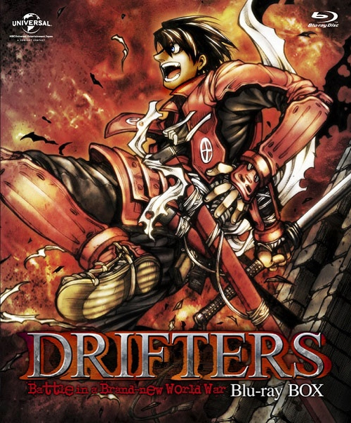 【Blu-ray】TV DRIFTERS Blu-ray BOX 特装限定生産