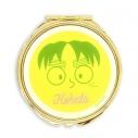 【グッズ-ミラー】忍たま乱太郎 フェイスコンパクトミラー(七松 小平太)【マークウッド】の画像