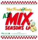 【アルバム】ゲーム A3! MANKAIカンパニーミックス公演アルバム MIX SEASONS LP 通常盤の画像