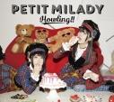 【アルバム】petit milady/Howling!! 初回限定盤Bの画像