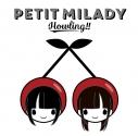 【アルバム】petit milady/Howling!! 通常盤の画像