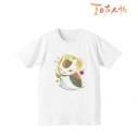 【グッズ-Tシャツ】夏目友人帳 Ani-Art Tシャツ(ニャンコ先生)/レディース(サイズ/L)の画像