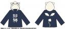 【グッズ-ジャンパー・コート】蒼の彼方のフォーリズム 真白・邪神ちゃん 長袖パーカー(Lサイズ)の画像