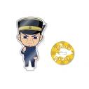 【グッズ-スタンドポップ】ゴールデンカムイ アクリルフィギュア 「10.月島軍曹」の画像