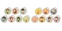 【グッズ-セット】鬼滅の刃 とじコレ Vol.3 ~クッキー~ ラバーストラップ 2点セット【送料無料】の画像