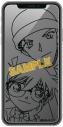 【グッズ-携帯グッズ】名探偵コナン iPhone 11/XR対応 強化ガラスフィルム コナン&赤井の画像
