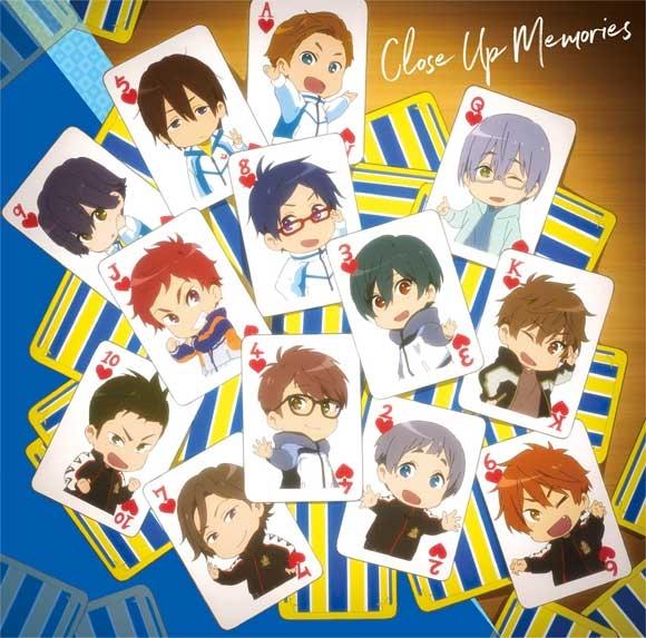 【アルバム】Free!-Dive to the Future- キャラクターソングミニアルバム Vol.2 Close Up Memories
