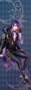【グッズ-タペストリー】夢王国と眠れる100人の王子様 イベント衣装ロングタペストリー第3弾(月覚醒Ver.) 眠らぬ夜の遊技場:ドロワットの画像