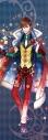 【グッズ-タペストリー】夢王国と眠れる100人の王子様 イベント衣装ロングタペストリー第3弾(月覚醒Ver.) 夢運ぶクリスマスサーカス:リカの画像