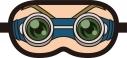 【グッズ-アイピロー】イナズマイレブン 鬼道のアイマスク 【アフターAGF2018】の画像
