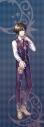 【グッズ-タペストリー】夢王国と眠れる100人の王子様 イベント衣装ロングタペストリー第3弾(月覚醒Ver.) 最上の輝きを君に:紫雨の画像