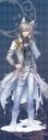 【グッズ-タペストリー】夢王国と眠れる100人の王子様 イベント衣装ロングタペストリー第3弾(月覚醒Ver.) 聖夜に灯る水晶花:ヴィムの画像