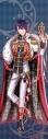 【グッズ-タペストリー】夢王国と眠れる100人の王子様 イベント衣装ロングタペストリー第3弾(月覚醒Ver.) 逆行のタルト裁判:ウィルの画像