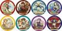 【グッズ-バッチ】夢王国と眠れる100人の王子様 キャラクタークロニクル トレーディング缶バッジの画像
