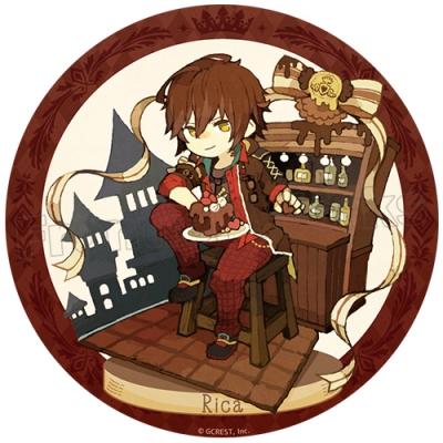 夢王国と眠れる100人の王子様 キャラクタークロニクル トレーディング缶バッジ 8個入りBOX