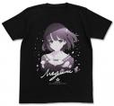 【グッズ-Tシャツ】冴えない彼女の育てかた♭ 加藤恵Tシャツ/BLACK-XL【再販】の画像