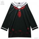 【グッズ-ワンピース】地獄少女×LISTEN FLAVOR 閻魔あい セーラーワンピ 01.BLACKの画像