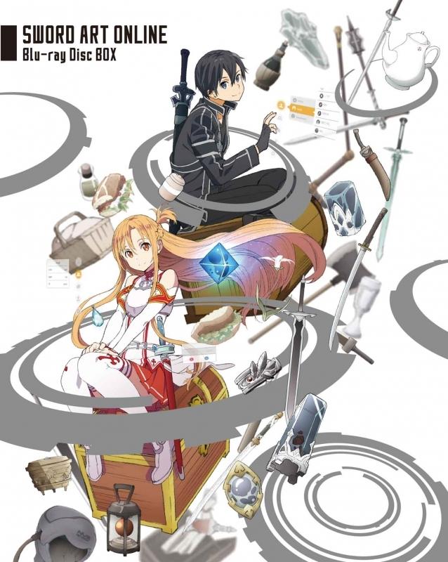 【Blu-ray】TV ソードアート・オンライン Blu-ray BOX 完全生産限定版