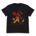 【グッズ-Tシャツ】鬼滅の刃 炎柱 煉獄杏寿郎 Tシャツ/BLACK-XLの画像