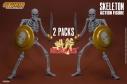【アクションフィギュア】ゴールデンアックス スケルトン 2PK SGGA002の画像