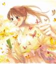 【グッズ-色紙】ちはやふる 越前和紙限定アート色紙 千早 蝶の画像