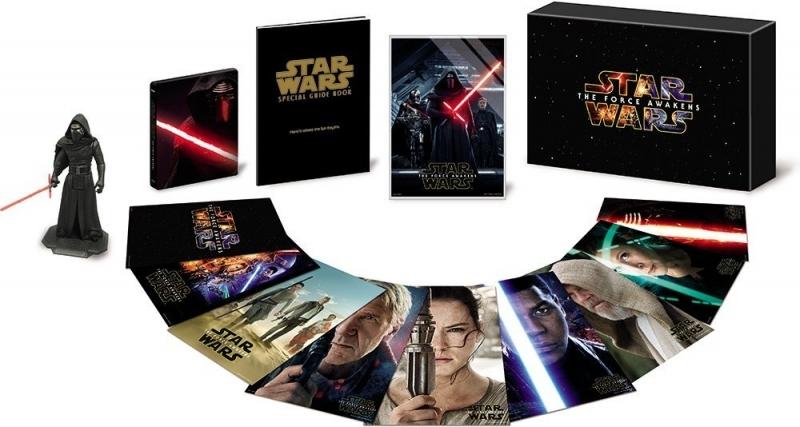 【Blu-ray】映画 スター・ウォーズ フォースの覚醒 MovieNEXプレミアムBOX