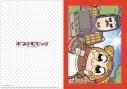 【グッズ-クリアファイル】ポプテピピック 「描き下ろし」A4クリアファイル ホッカイロ売りの少女の画像