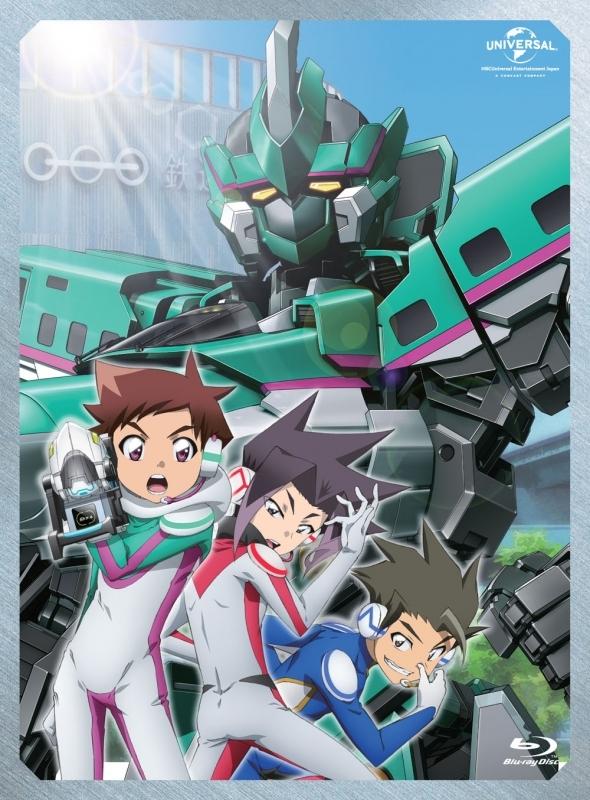 【Blu-ray】新幹線変形ロボ シンカリオンBlu-ray BOX1 通常版