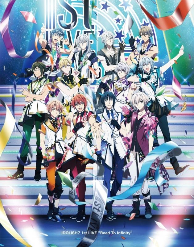 【Blu-ray】アイドリッシュセブン 1st LIVE Road To Infinity Blu-ray BOX -Limited Edition-