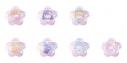 【グッズ-バッチ】カードキャプターさくら×LittleTwinStars トレーディング星型缶バッジの画像