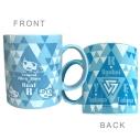 【グッズ-マグカップ】Trignalのキラキラ☆ビートRフェスタ 2020 ONLINE マグカップの画像