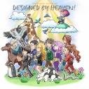 【主題歌】TV 天地創造デザイン部 ED「DESIGNED BY HEAVEN!」/パライソ☆社員スターズの画像