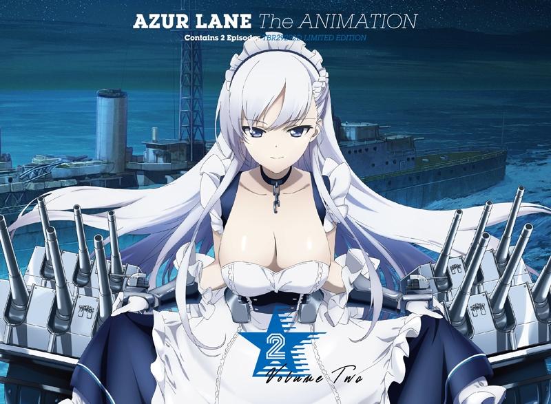 【Blu-ray】TV アズールレーン Vol.2 初回生産限定版