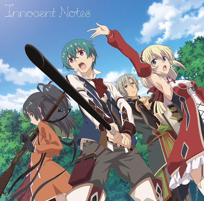 【主題歌】TV グリムノーツ The Animation OP「Innocent Notes」/竹達彩奈 アニメ盤