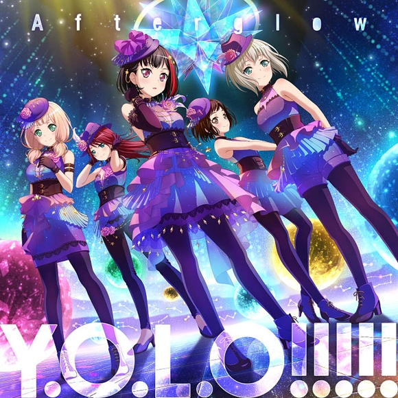 BanG Dream! バンドリ! Afterglow Y.O.L.O!!!!! 通常盤
