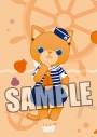 【グッズ-クリアファイル】うたの☆プリンスさまっ♪ PRINCE CAT クリアファイル マリンVer.「アランチャ」の画像