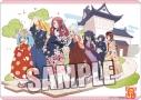 【グッズ-マット】ゾンビランドサガ キャラクター万能ラバーマット「維新まつり」Ver.の画像