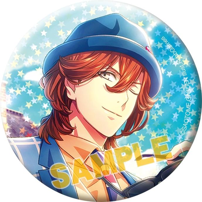 うたの☆プリンスさまっ♪ Shining Live トレーディングスターホログラム缶バッジ 寿 嶺二コレクション_1