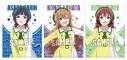 【グッズ-クリアファイル】ラブライブ!虹ヶ咲学園スクールアイドル同好会 クリアファイル3枚セット 3年生の画像