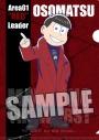【グッズ-クリアファイル】おそ松さん クリアファイル「おそ松」MATSUNO THE WORST ver.の画像