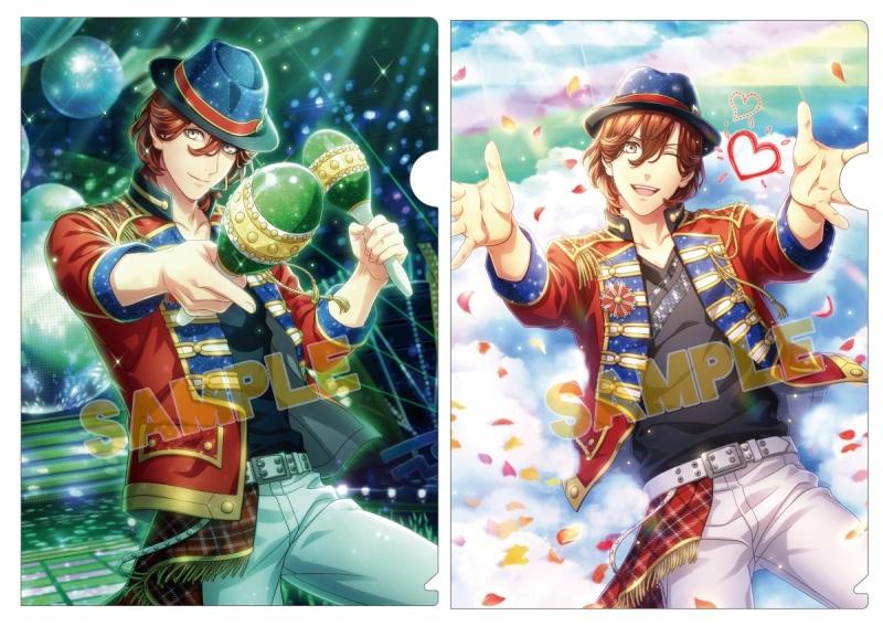 うたの☆プリンスさまっ♪ Shining Live クリアファイル2枚セット Shiny Star Live Ver.「寿 嶺二」_0
