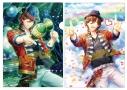 【グッズ-クリアファイル】うたの☆プリンスさまっ♪ Shining Live クリアファイル2枚セット Shiny Star Live Ver.「寿 嶺二」【アニメイト限定】の画像